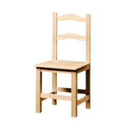 Silla 2 celchas asiento madera