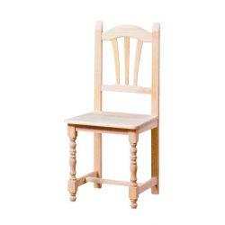 Silla Palmera torneada asiento madera