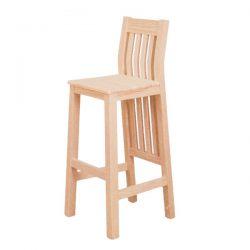 Taburete Atenas asiento madera