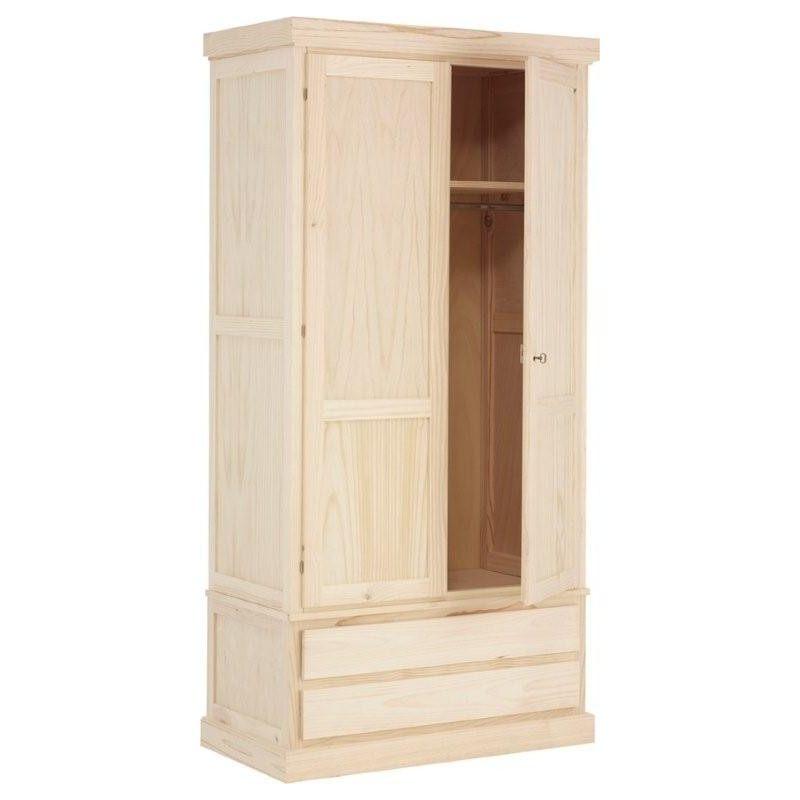 juvenile kleiderschrank 2 t ren. Black Bedroom Furniture Sets. Home Design Ideas