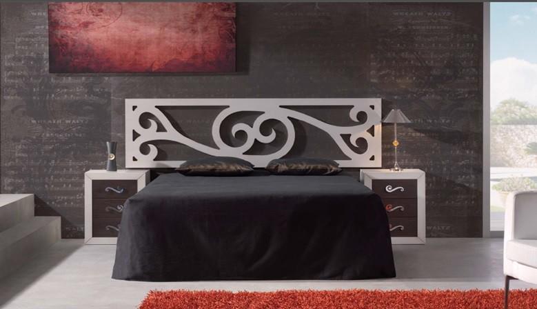Camera da letto con un tocco moderno